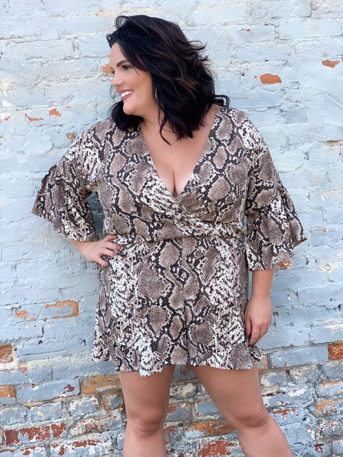 Runway Ready Curvey Romper