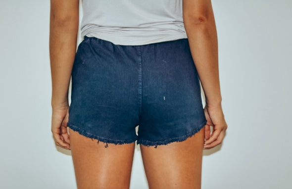 Heartbreak Girl Shorts in Dark Navy