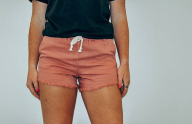 Heartbreak Girl Shorts in Indie Pink