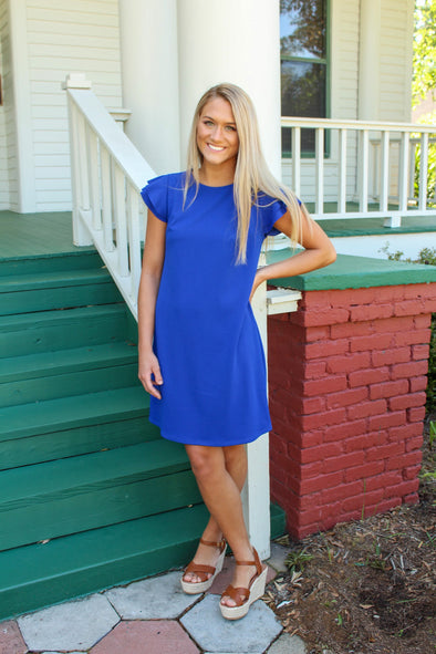 Your Best Fit Dress in Royal