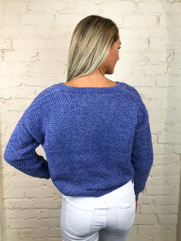 Go Soft Sweater in Indigo