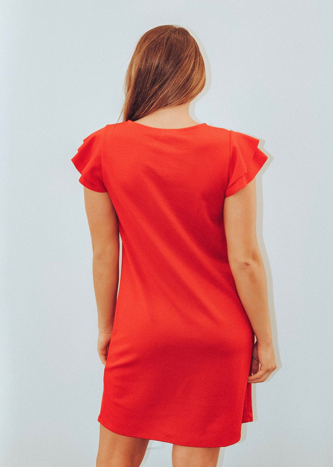 Your Best Fit Dress in Red