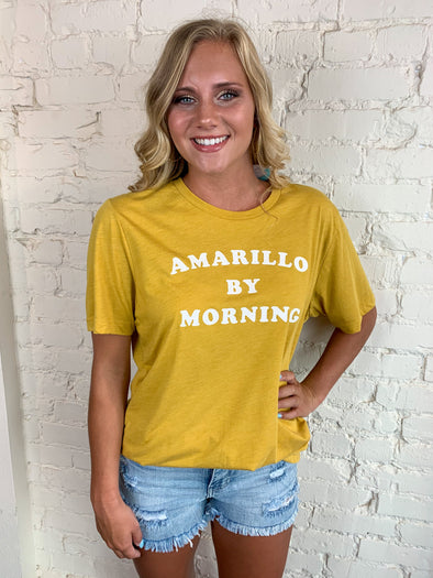 Charlie Southern Amarillo By Morning Tee