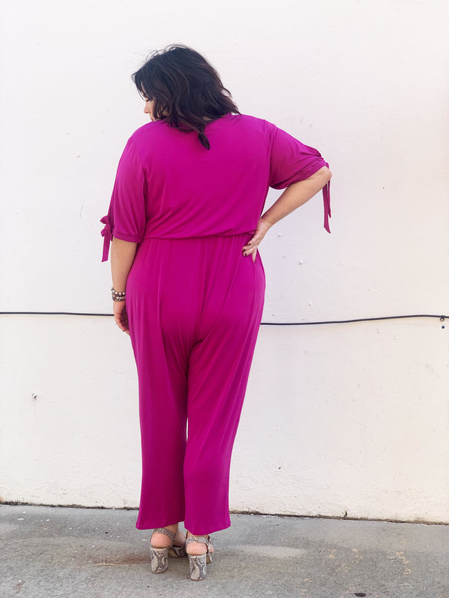 Never Disappointed Curvey Jumpsuit