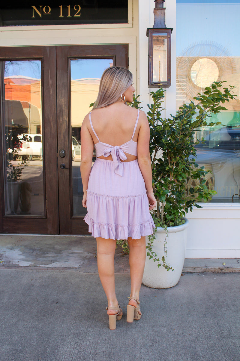 Hello Dear Dress In Lavender