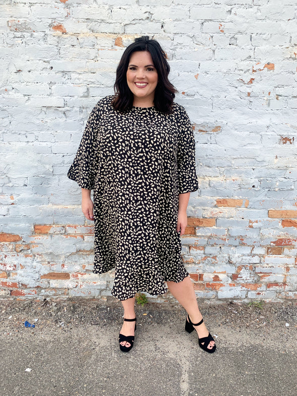Leopard Dreams Curvey Dress