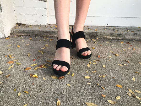 Picture Perfect Sandal In Black