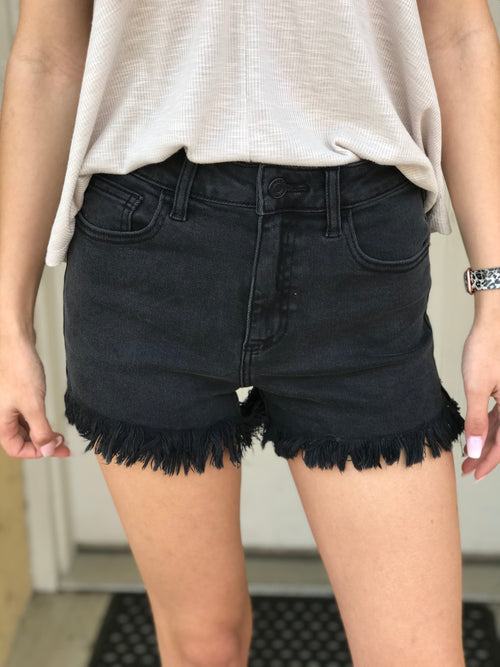Fade Into Love Denim Shorts