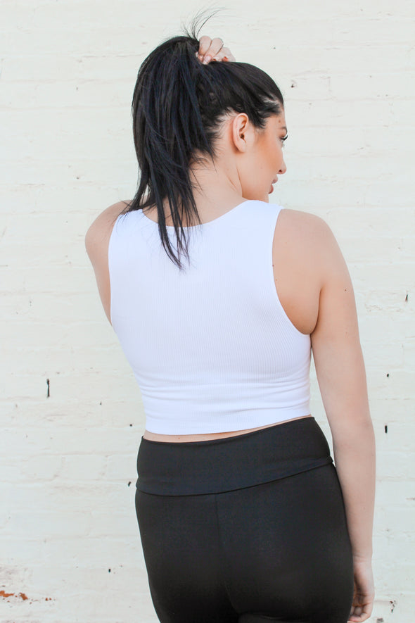 Essential Seamless Brami in White