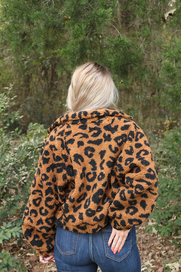 Exactly My Type Cheetah Jacket