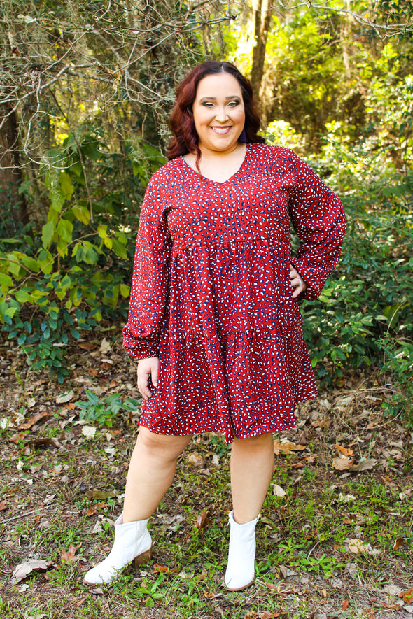 Let My Heart Run Wild Dress in Curvey