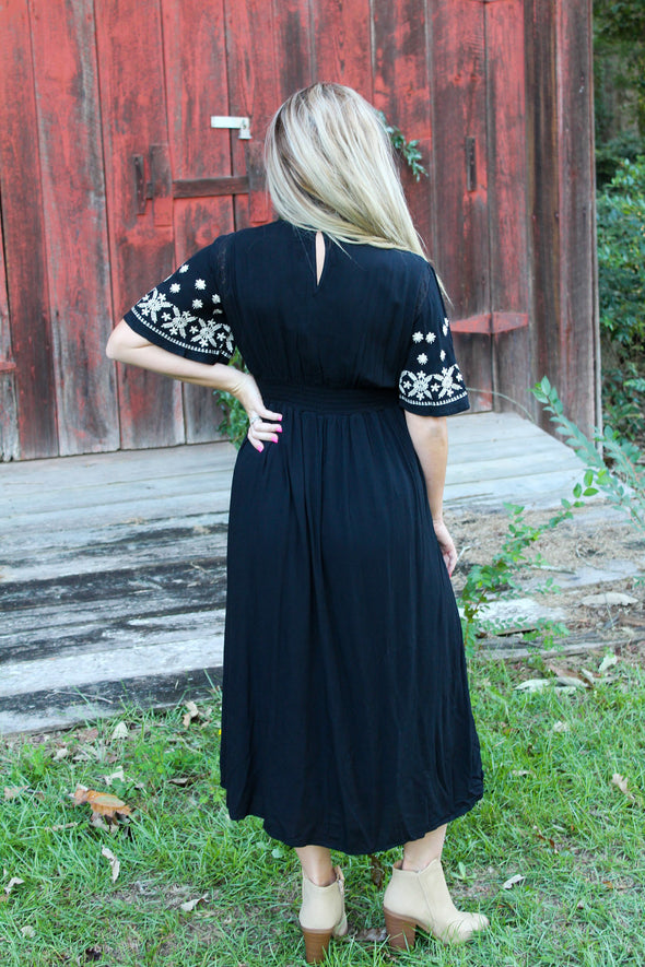 Sweetest Romance Dress in Black