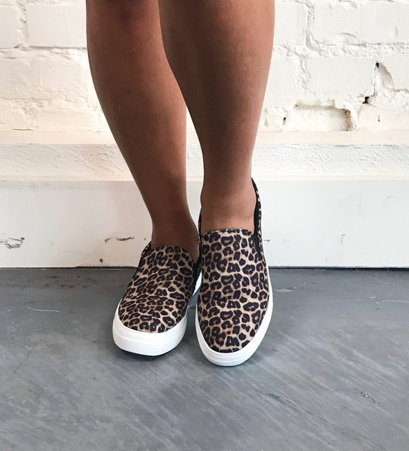 Get a Move On Sneaker in Cheetah