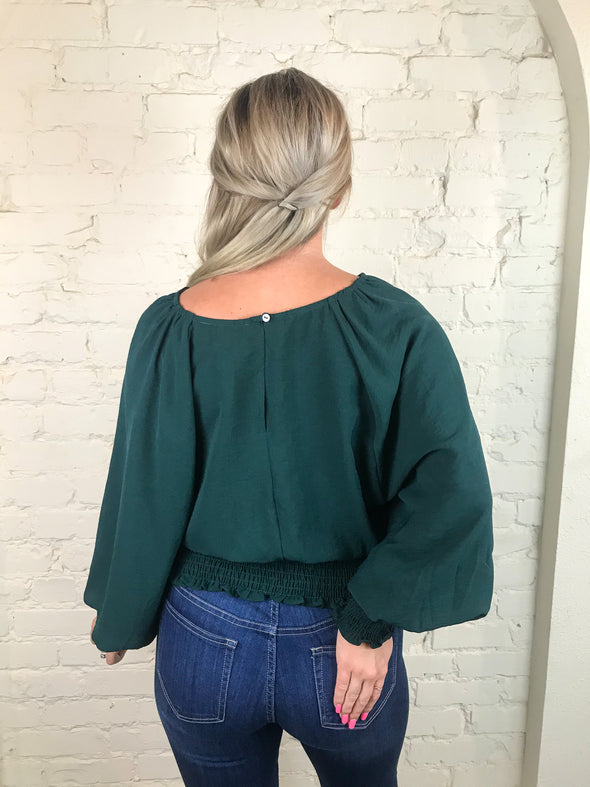 You'll Love Me Top in Sea Green