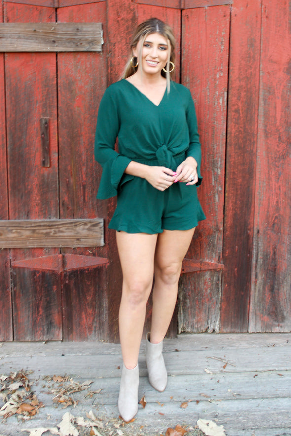 Own The Night Romper