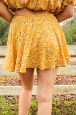 Ray Of Sunshine Skort