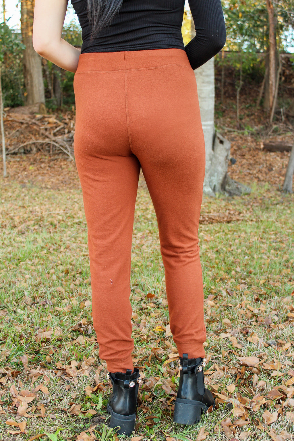 It's About Time Joggers in Hazelnut