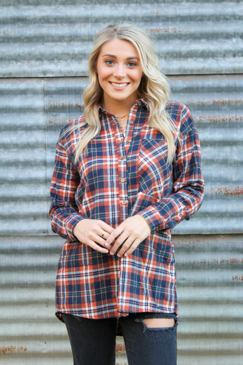 Keep Me Cozy Flannel Shirt