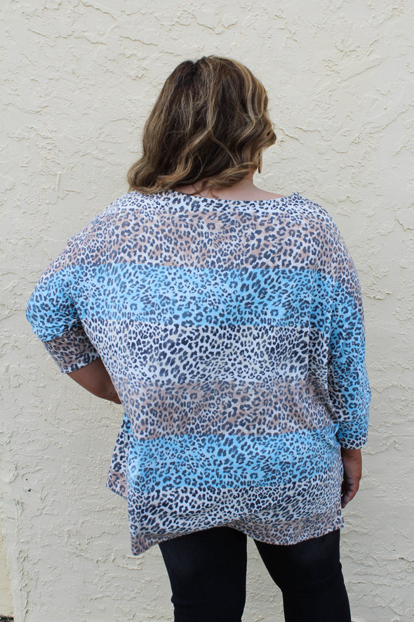 Wild Occasion Top in Curvey