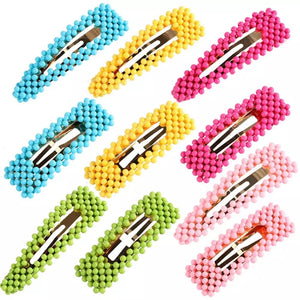Spring Hair Clips (7 pieces)