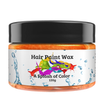 Orange- Hair Paint Wax