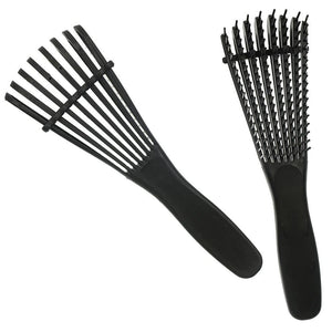 Detangling Brush For Kinky, Coily And Curly Hair