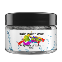 Black (charcoal) -Hair Paint Wax