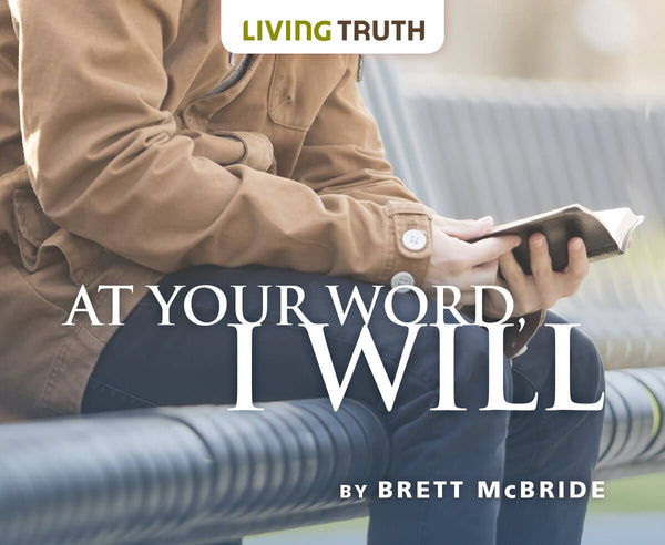 CD: At Your Word, I Will