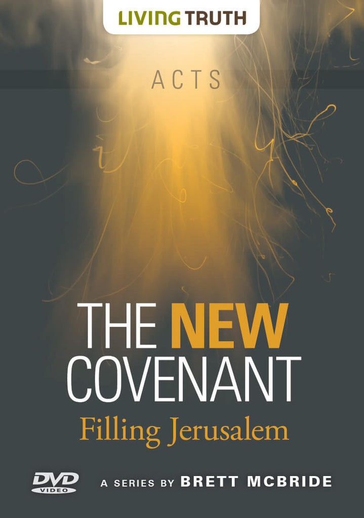 DVD: The New Covenant: Filling Jerusalem (Acts) 6 Part Series