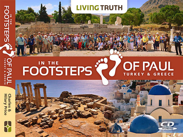 CD: In the Footsteps of Paul (4 Part Series)