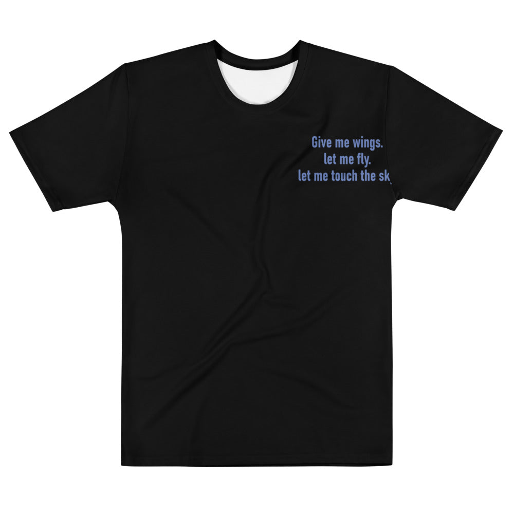 Blue Wings Tralala T-shirt. Pre-order.
