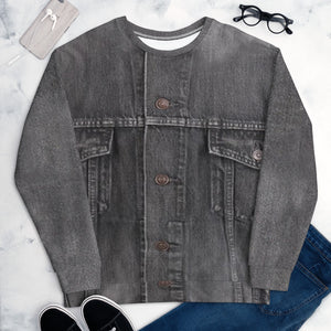 Faux Gray Denim S-En Vogue. Pre-order.