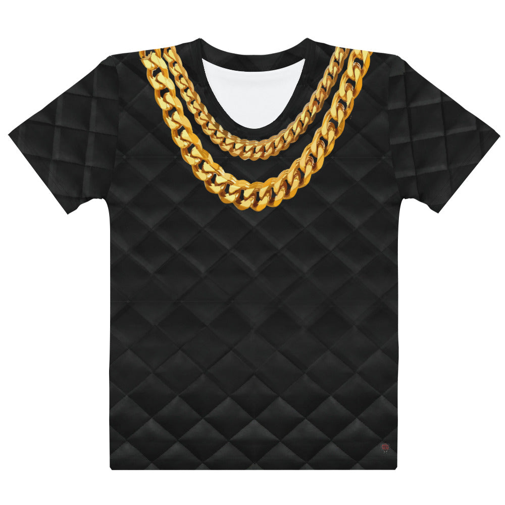 Faux Gold Necklace on T-En Vogue. Pre-order.
