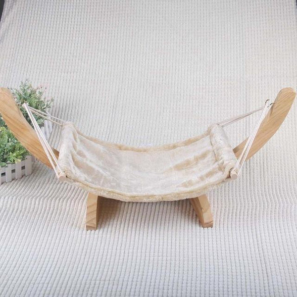 Luxury Hammock Cat Bed - Bow Chicka Meow Meow