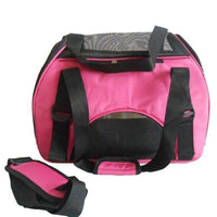 Collapsible Pet Carrier - Bow Chicka Meow Meow