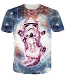 Amazing 3D Cat Shirts - Bow Chicka Meow Meow