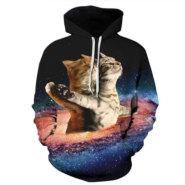 Cat Titanic Hoodies - Bow Chicka Meow Meow