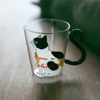 Cat Designed Glasses - Bow Chicka Meow Meow