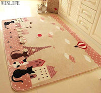 Fun Cat Rugs - Bow Chicka Meow Meow