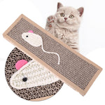 Hemp Cat Scratcher Pad - Bow Chicka Meow Meow