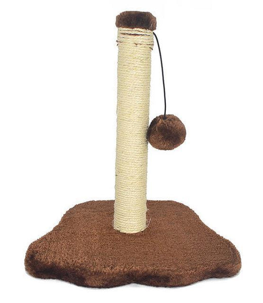 Sisal And Carpet Cat Scratcher - Bow Chicka Meow Meow