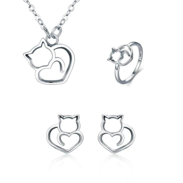 Cat Heart Collection - Bow Chicka Meow Meow