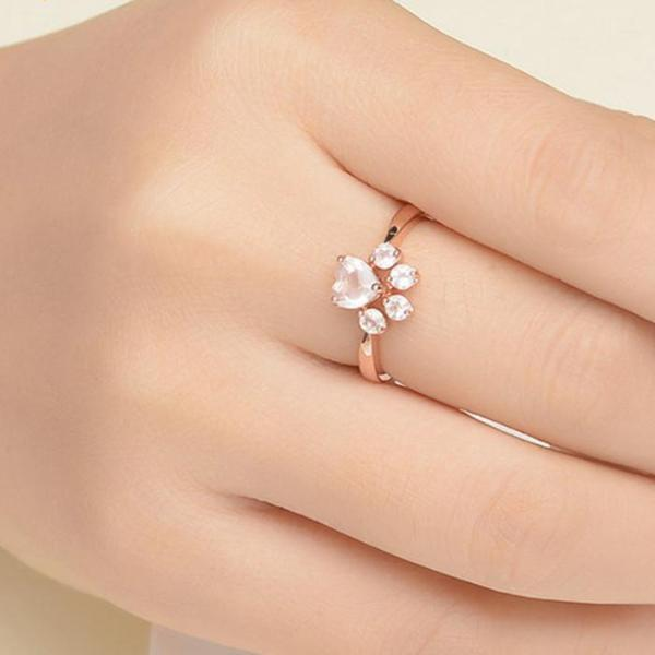 Cat Paw Ring - Bow Chicka Meow Meow