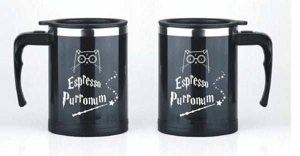 Magic Cat Coffee Mug - Bow Chicka Meow Meow