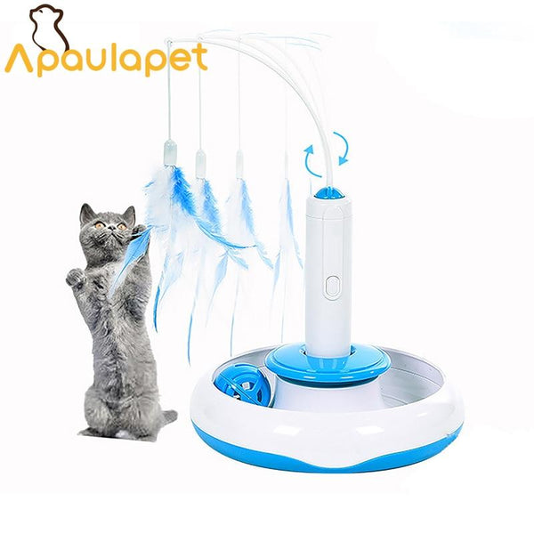 Robot Cat Or Kitty Toy - Bow Chicka Meow Meow