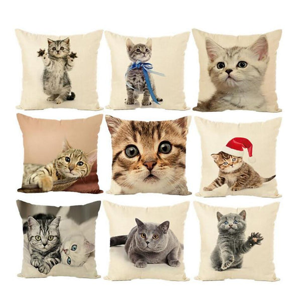 Cat Pillow Case - Bow Chicka Meow Meow