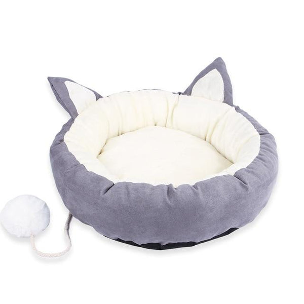 Cute Cat Ear Bed - Bow Chicka Meow Meow