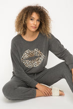 Load image into Gallery viewer, Leopard Kiss Sweatshirt