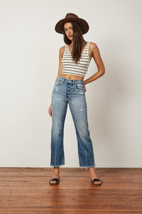 The Mikey Wide Leg Jean