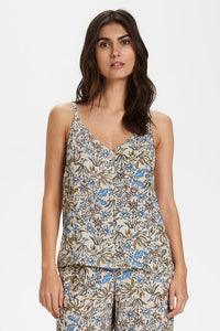 Caren Wildflower Button Tank
